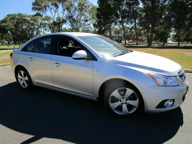 Used Holden Cruze JH MY13 CD Equipe Glenelg, 2013 Holden Cruze JH MY13 CD Equipe Silver 6 Speed Automatic Sedan