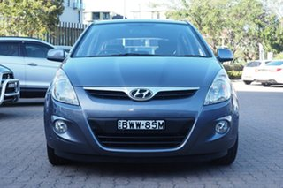 2011 Hyundai i20 PB MY11 Elite Grey 4 Speed Automatic Hatchback