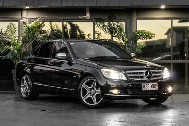 Used Mercedes-Benz C-Class W204 C200 Kompressor Classic Bowen Hills, 2008 Mercedes-Benz C-Class W204 C200 Kompressor Classic Black 5 Speed Sports Automatic Sedan