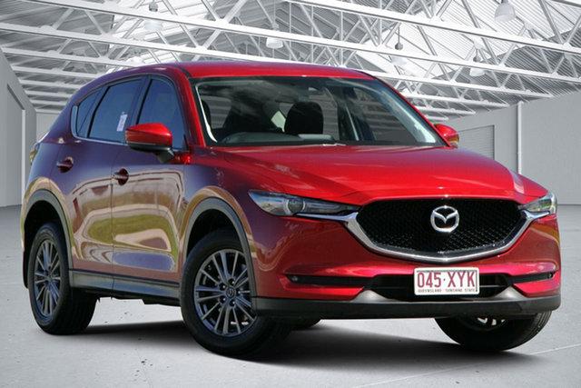 Used Mazda CX-5 MY18 (KF Series 2) Maxx Sport (4x4) Eagle Farm, 2018 Mazda CX-5 MY18 (KF Series 2) Maxx Sport (4x4) Soul Red 6 Speed Automatic Wagon