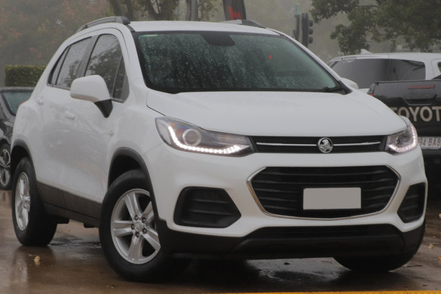 Used Holden Trax TJ MY20 LS Toowoomba, 2019 Holden Trax TJ MY20 LS White 6 Speed Automatic Wagon