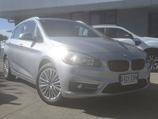 2015 BMW 2 Series F45 218i Active Tourer Steptronic Sport Line Silver 6 Speed Automatic Hatchback