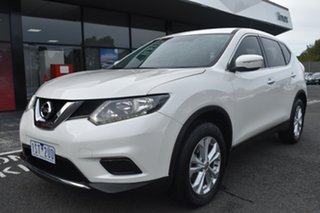2014 Nissan X-Trail T32 ST X-tronic 4WD White 7 Speed Constant Variable Wagon.