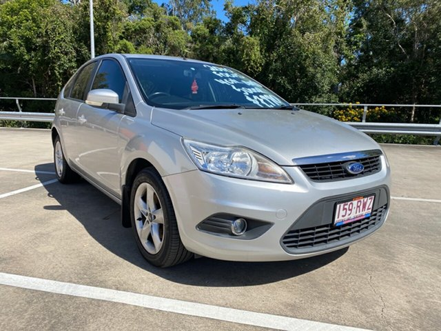 Used Ford Focus LV LX Morayfield, 2010 Ford Focus LV LX Silver 4 Speed Automatic Hatchback
