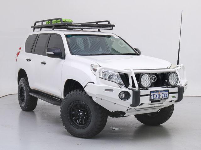 Used Toyota Landcruiser Prado GDJ150R MY16 GX (4x4), 2016 Toyota Landcruiser Prado GDJ150R MY16 GX (4x4) White 6 Speed Automatic Wagon