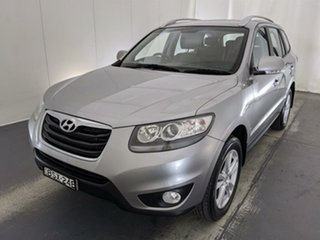2010 Hyundai Santa Fe CM MY10 Highlander Grey 6 Speed Sports Automatic Wagon.