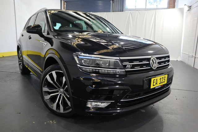 Used Volkswagen Tiguan 5N MY17 140TDI DSG 4MOTION Highline Castle Hill, 2017 Volkswagen Tiguan 5N MY17 140TDI DSG 4MOTION Highline Black 7 Speed
