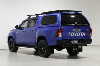2019 Toyota Hilux GUN126R MY19 SR5 (4x4) Blue 6 Speed Automatic Double Cab Pick Up