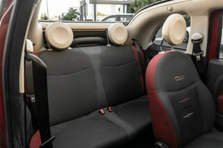 2014 Fiat 500C Series 3 S Dualogic Red 5 Speed Sports Automatic Single Clutch Convertible