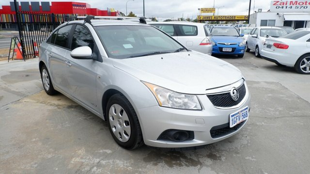 Used Holden Cruze JH Series II MY11 CD St James, 2011 Holden Cruze JH Series II MY11 CD Grey 6 Speed Sports Automatic Sedan