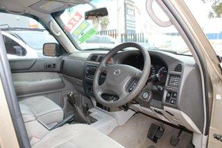 2004 Nissan Patrol GU III ST (4x4) Gold 5 Speed Manual Wagon