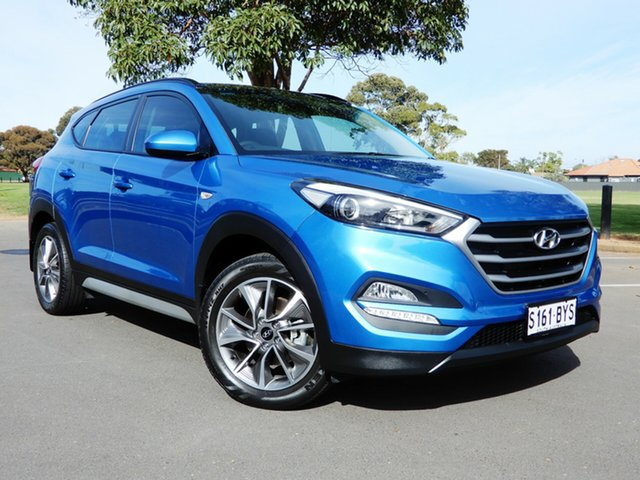 Used Hyundai Tucson TL MY17 Active X 2WD Glenelg, 2017 Hyundai Tucson TL MY17 Active X 2WD Blue 6 Speed Sports Automatic Wagon