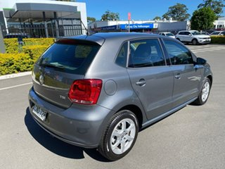 2012 Volkswagen Polo 6R MY13 77TSI DSG Comfortline Grey 7 Speed Sports Automatic Dual Clutch