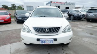 2007 Lexus RX GSU35R MY07 RX350 Sports White 5 Speed Sports Automatic Wagon.