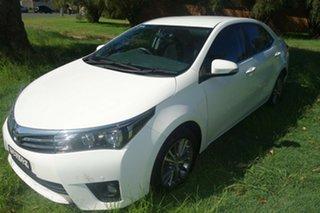 2015 Toyota Corolla ZRE172R SX S-CVT White 7 Speed Constant Variable Sedan.