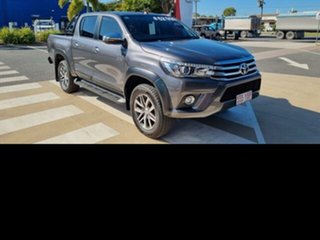 2018 Toyota Hilux GUN126R SR5 Double Cab Graphite 6 Speed Sports Automatic Utility.