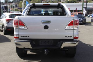 2012 Mazda BT-50 UP0YF1 XTR Silver 6 Speed Sports Automatic Utility