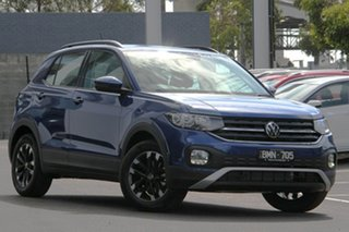 2021 Volkswagen T-Cross C1 MY21 85TSI DSG FWD Life Blue 7 Speed Sports Automatic Dual Clutch Wagon.