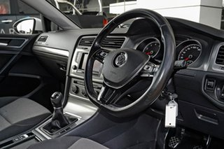 2015 Volkswagen Golf 7 90TSI White Manual Hatchback.