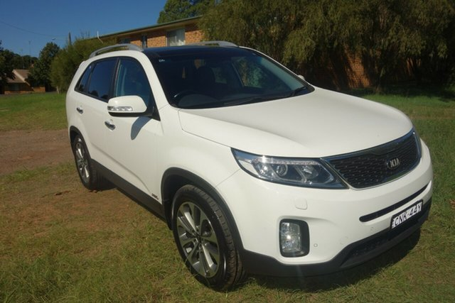 Used Kia Sorento XM MY14 Platinum 4WD East Maitland, 2013 Kia Sorento XM MY14 Platinum 4WD Grey 6 Speed Sports Automatic Wagon