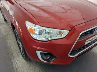 2014 Mitsubishi ASX XB MY15 LS 2WD Red 5 Speed Manual Wagon.