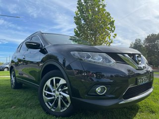 2016 Nissan X-Trail T32 Ti X-tronic 4WD Black 7 Speed Constant Variable Wagon.