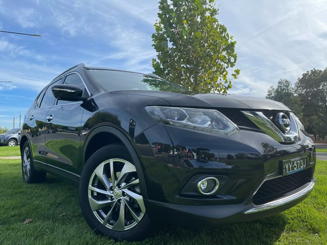 Used Nissan X-Trail T32 Ti X-tronic 4WD Hindmarsh, 2016 Nissan X-Trail T32 Ti X-tronic 4WD Black 7 Speed Constant Variable Wagon