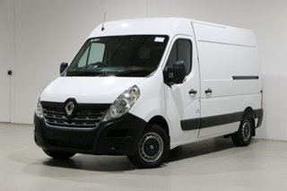 2019 Renault Master X62 MY17 MWB MID White 6 Speed Automated Manual Van.