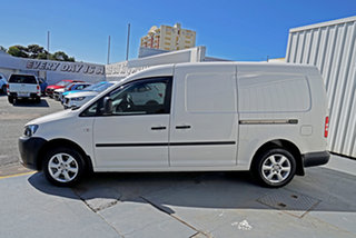 2014 Volkswagen Caddy 2KN MY14 TDI250 BlueMOTION Maxi DSG White 7 Speed Sports Automatic Dual Clutch