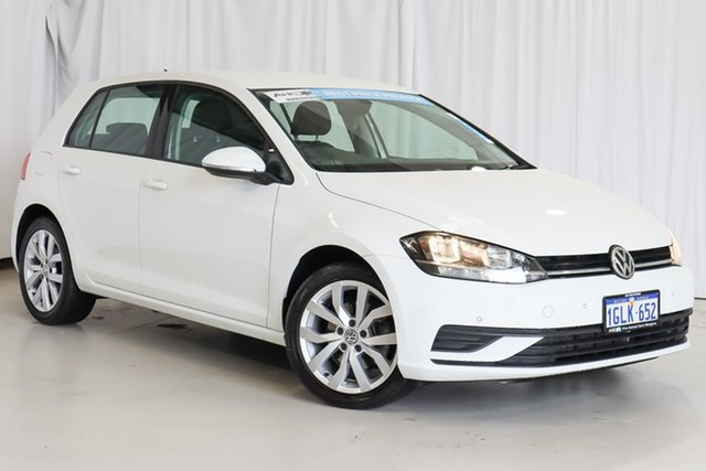 Used Volkswagen Golf 7.5 MY17 110TSI DSG Trendline Wangara, 2017 Volkswagen Golf 7.5 MY17 110TSI DSG Trendline White 7 Speed Sports Automatic Dual Clutch