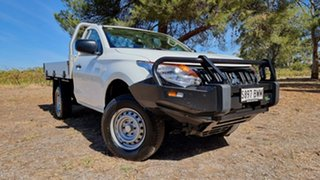 2018 Mitsubishi Triton MQ MY18 GLX 4x2 White 5 Speed Manual Cab Chassis.