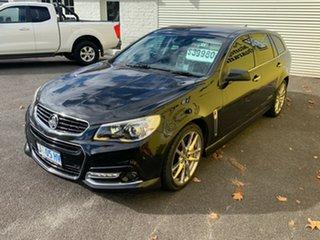 2014 Holden Commodore VF MY14 SS V Sportwagon Redline Black 6 Speed Sports Automatic Wagon.