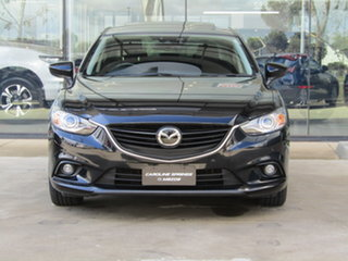 2014 Mazda 6 GJ1031 Atenza SKYACTIV-Drive Black 6 Speed Sports Automatic Sedan.