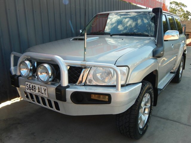 Used Nissan Patrol GU 7 MY10 ST Blair Athol, 2011 Nissan Patrol GU 7 MY10 ST Silver 5 Speed Manual Wagon