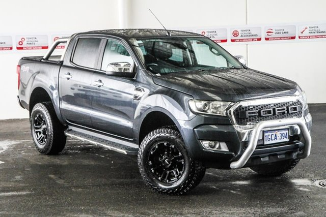 Pre-Owned Ford Ranger PX MkII XLT 3.2 (4x4) Rockingham, 2016 Ford Ranger PX MkII XLT 3.2 (4x4) 6 Speed Automatic Double Cab Pick Up