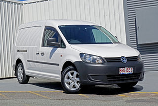 2014 Volkswagen Caddy 2KN MY14 TDI250 BlueMOTION Maxi DSG White 7 Speed Sports Automatic Dual Clutch.