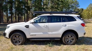 2020 Ford Everest UA II 2021.25MY Trend Arctic White 6 Speed 2ED SUV