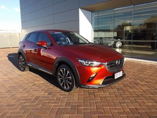 2021 Mazda CX-3 DK4W7A sTouring SKYACTIV-Drive i-ACTIV AWD Red 6 Speed Sports Automatic Wagon.