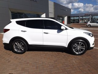 2015 Hyundai Santa Fe DM2 MY15 Highlander White 6 Speed Sports Automatic Wagon.