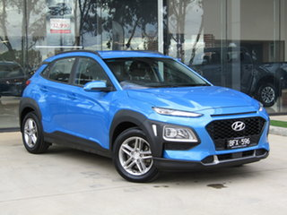 2018 Hyundai Kona OS MY18 Active D-CT AWD Blue 7 Speed Sports Automatic Dual Clutch Wagon.