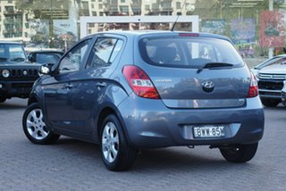 2011 Hyundai i20 PB MY11 Elite Grey 4 Speed Automatic Hatchback.