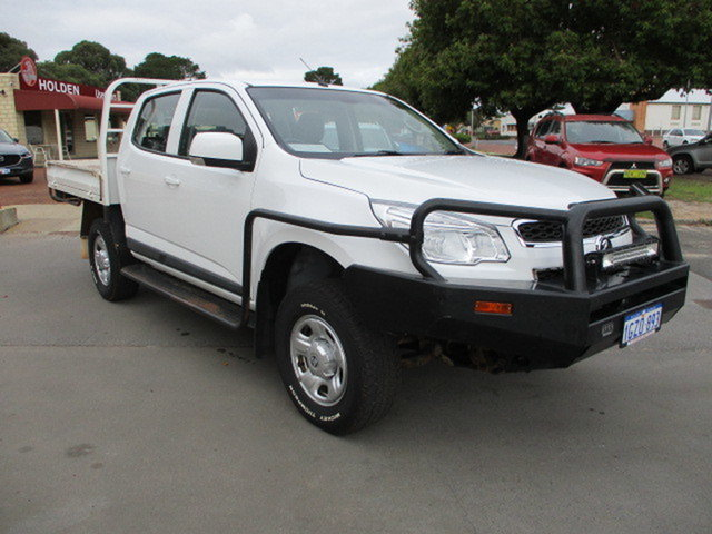 Used Holden Colorado RG Katanning, 2015 Holden Colorado RG LS 4x4 White 6 Speed Automatic Dual Cab