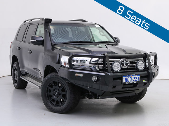 Used Toyota Landcruiser VDJ200R LC200 GXL (4x4), 2020 Toyota Landcruiser VDJ200R LC200 GXL (4x4) Black 6 Speed Automatic Wagon