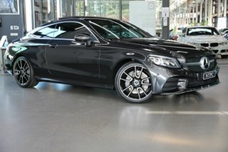 2019 Mercedes-Benz C-Class C205 809MY C200 9G-Tronic Grey 9 Speed Sports Automatic Coupe.