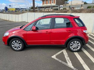 2012 Suzuki SX4 GYA MY11 S Red/Black 6 Speed Constant Variable Hatchback
