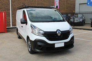 2018 Renault Trafic X82 MY17 SWB LOW (85kW) White 6 Speed Manual Van.