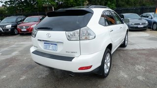 2007 Lexus RX GSU35R MY07 RX350 Sports White 5 Speed Sports Automatic Wagon