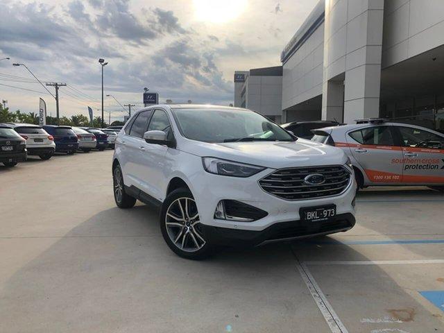 Used Ford Endura CA 2019MY Titanium Oakleigh, 2019 Ford Endura CA 2019MY Titanium White 8 Speed Sports Automatic Wagon