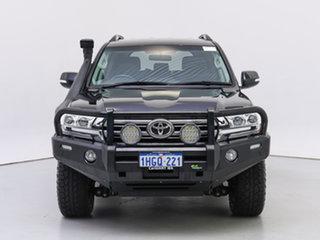 2020 Toyota Landcruiser VDJ200R LC200 GXL (4x4) Black 6 Speed Automatic Wagon.