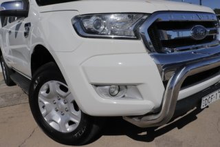 2016 Ford Ranger PX MkII XLT Super Cab White 6 Speed Sports Automatic Utility.